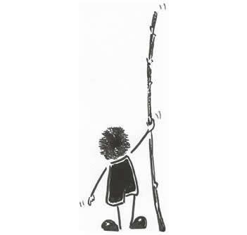 Ilustración do dito